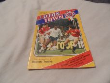Luton Town v Manchester United, 1985/86